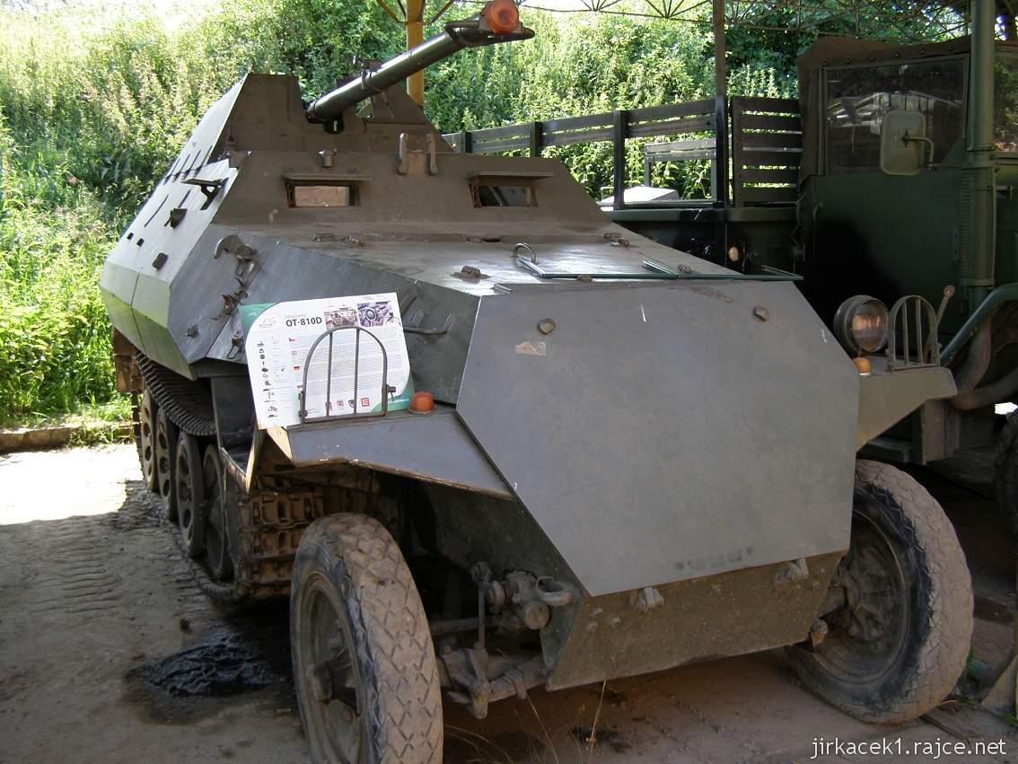 muzeum na demarkační linii Rokycany 21 - stíhač tanků OT-810D
