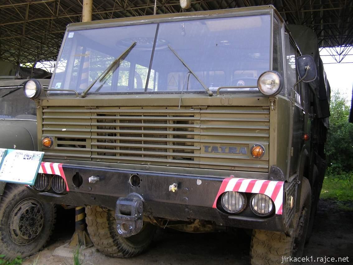 muzeum na demarkační linii Rokycany 28 - nákladní automobil TATRA-813