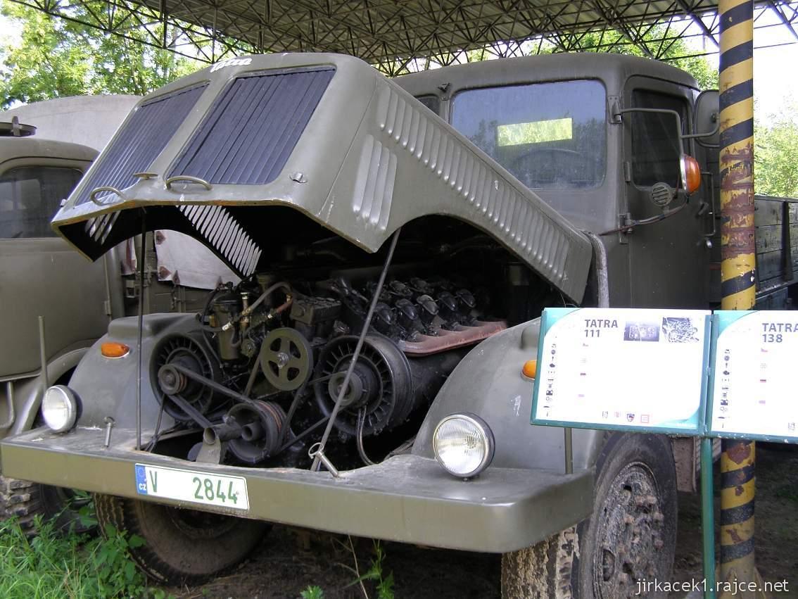 muzeum na demarkační linii Rokycany 30 - nákladní automobil TATRA-111