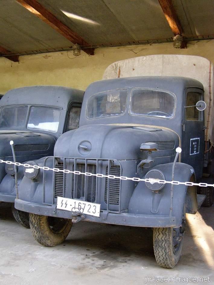 muzeum na demarkační linii Rokycany 34 - nákladní automobil STEYR 1500 A