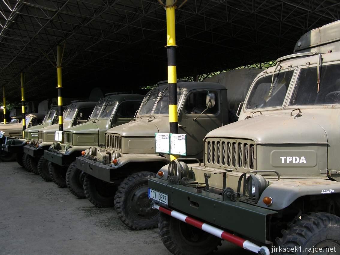 muzeum na demarkační linii Rokycany 38 - nákladní automobil PRAGA V3S