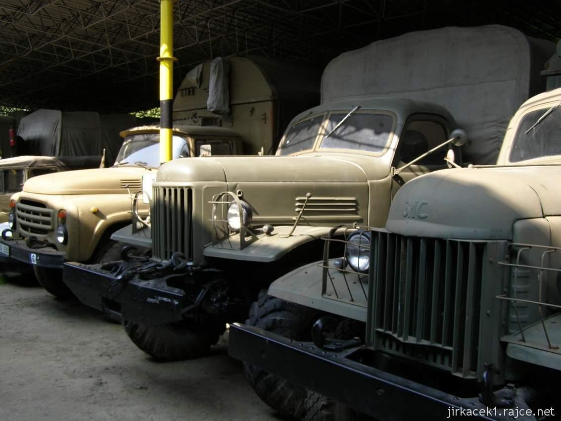 muzeum na demarkační linii Rokycany 39 - nákladní automobil ZIS-151