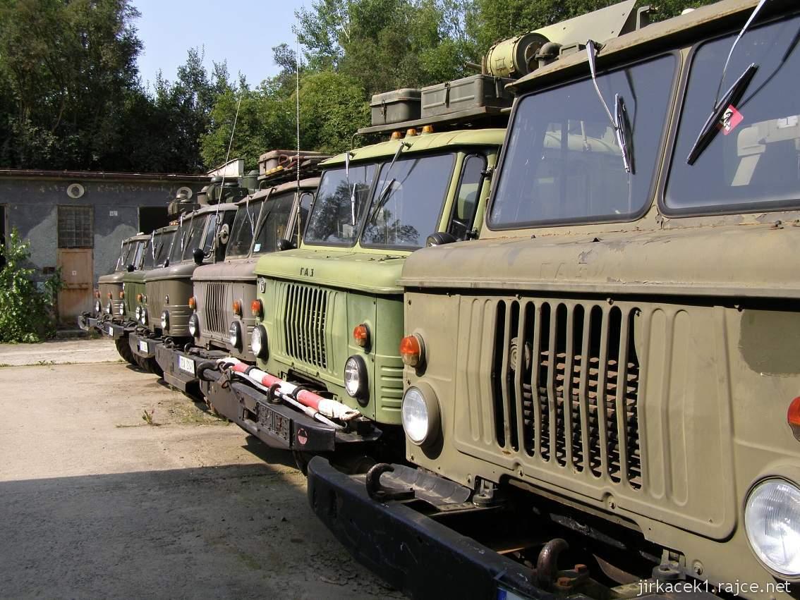 muzeum na demarkační linii Rokycany 41 - nákladní automobil GAZ 66K