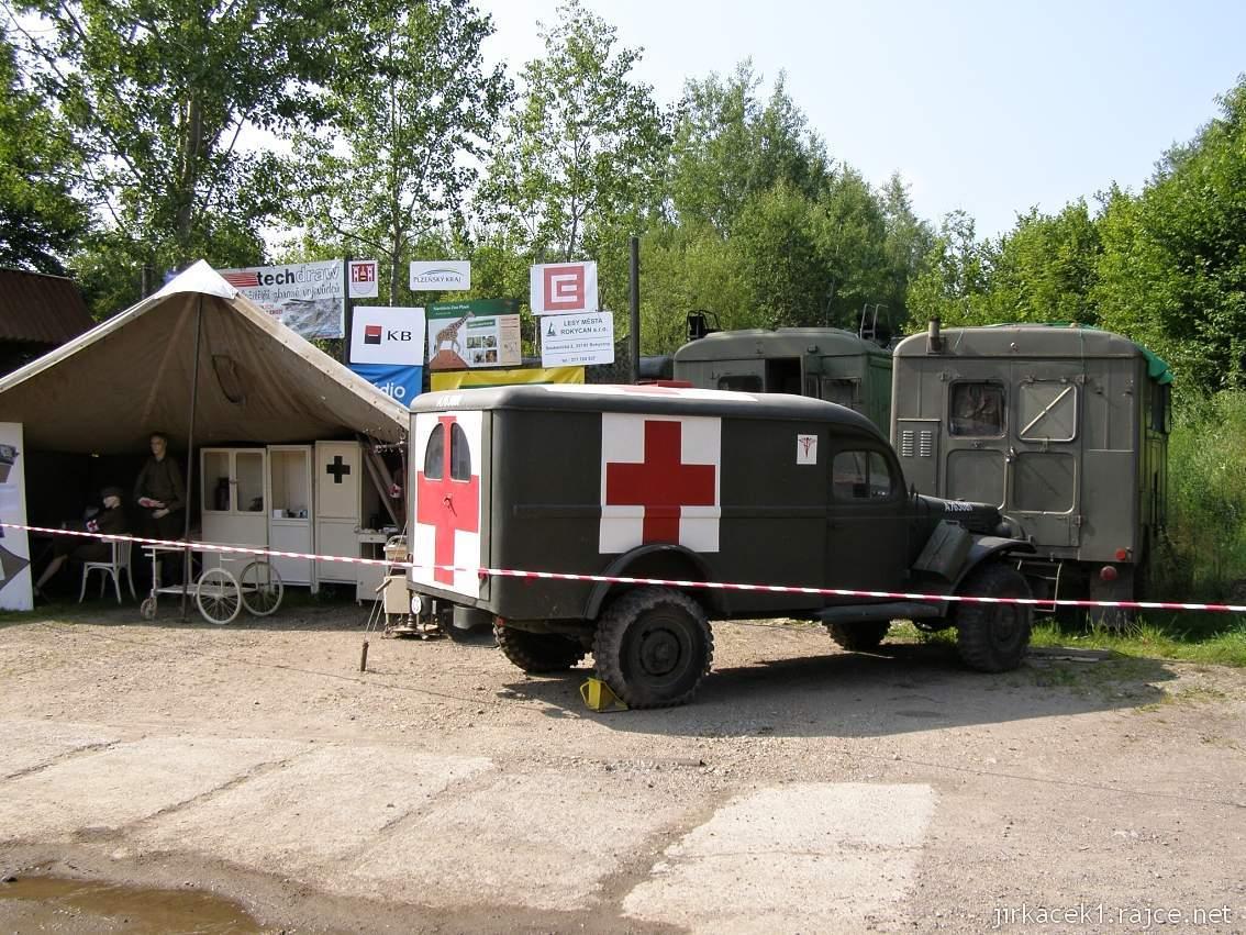 muzeum na demarkační linii Rokycany 49 - polní nemocnice