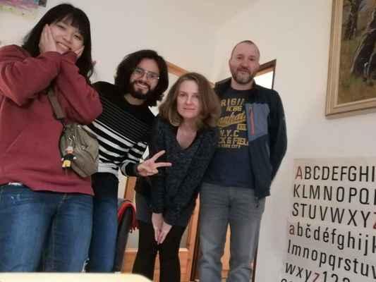Studenti z Kolubie a Tajwanu u nás, projekt Edison.