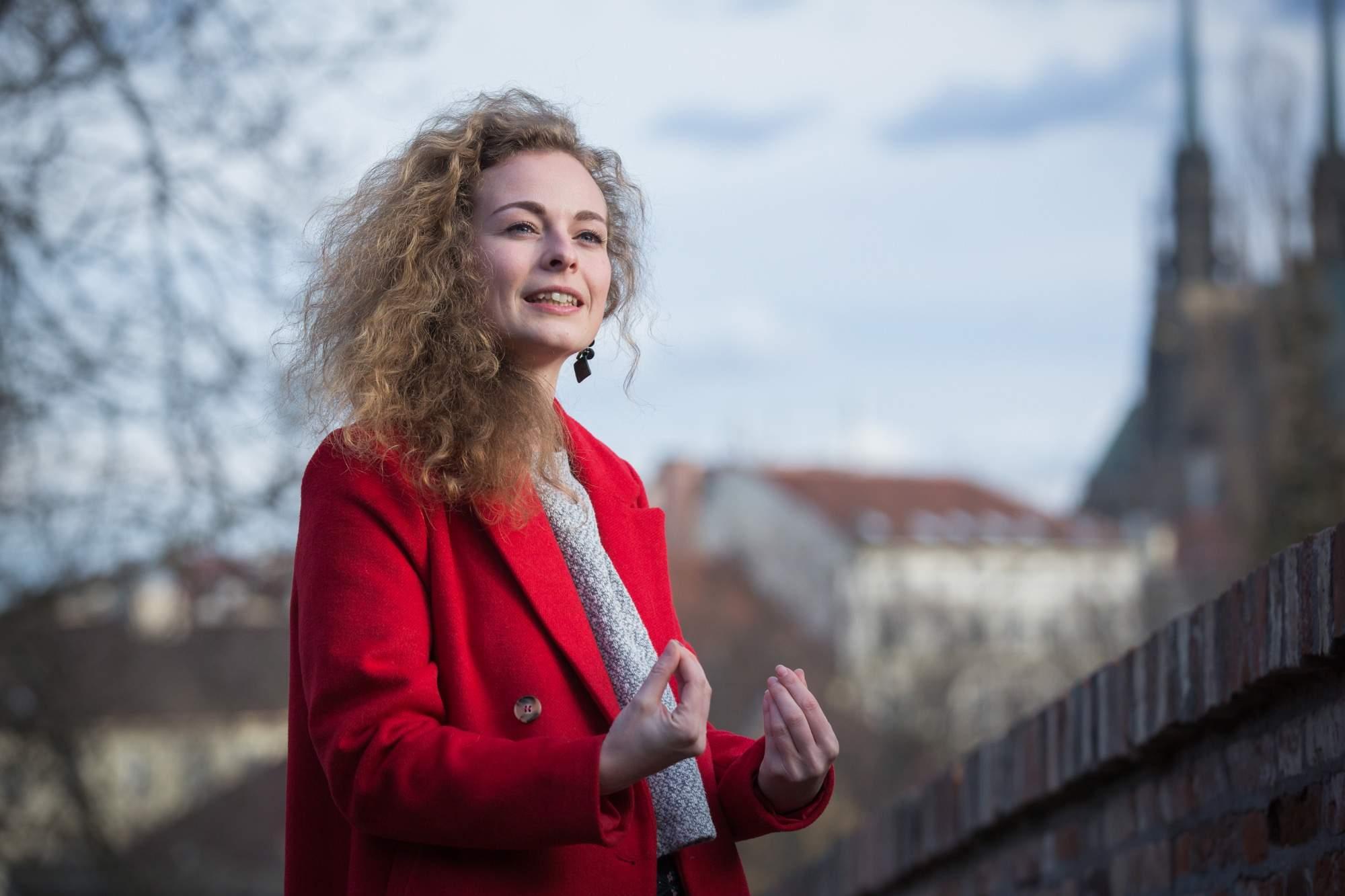 Pavla Kolářová, koordinátorka projektu Chcu to v Brně