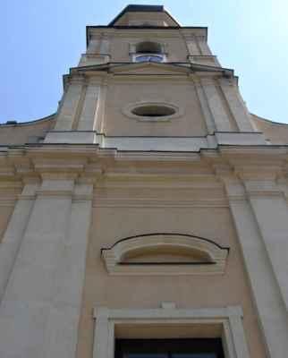 Tworków - kostel sv. Petra a Pavla (Kościół Św. Piotra i Pawła w Tworkowie) - věž