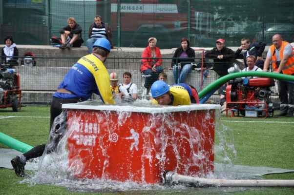 Krajské kolo soutěže v požárním sportu 2011